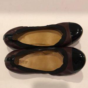 J.Crew ballet flat shoes!  New!  Size 8